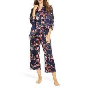 Nordstrom Lingerie Women's Floral Satin Pajama
